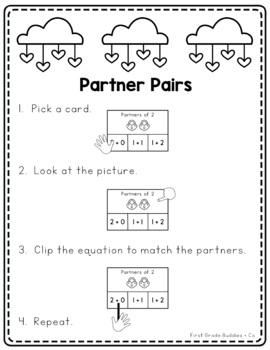 Math Bags for Kindergarten: Valentine Version! (10 Themed Math Centers)