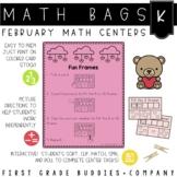 Math Bags for Kindergarten: Valentine Version! (10 Themed