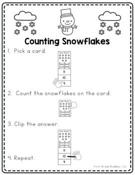 Math Bags for Kindergarten: Winter Version! (10 Winter Themed Math Centers)