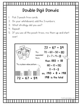 Math Bags for 2nd Grade Set 4 (10 Common Core Aligned Math Centers)