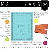 Math Bags for 2nd Grade #4 | Math Centers for Collaborative and Indpendent Use