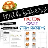 Math Bakery: Fractions, graphs, story problems