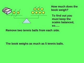Math Balancing Equations with Models