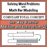 Math Bar Modeling Task Cards: Addition and Subtraction (Co