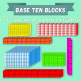 Math Base Ten Blocks - Rectangualar Prisms - 560 IMAGES!