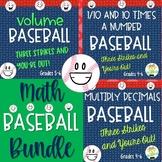 Math Baseball Bundle