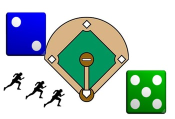 Math Baseball Game for Smart Notebook