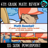 4th Grade Comprehensive Math Review