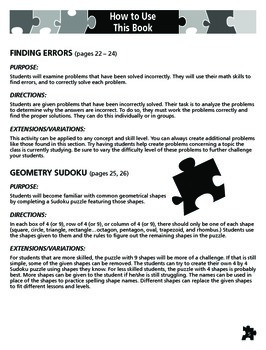 Math-Based Puzzles