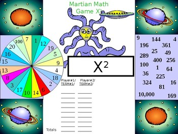Math Basic Exponent - Square or Cubed Root Practice Game