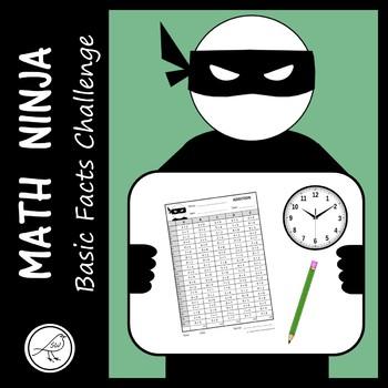 math basic fact challenge math ninja