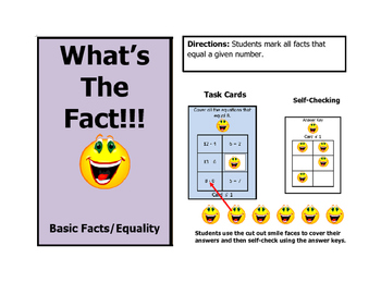 Math Basic Facts Equivalency