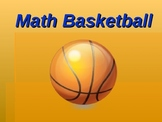Math Basketball Review for 4th grade Power point