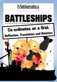 Math: Battleship Transformations! Reflection, rotation and