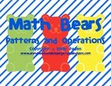 Math Bears Patterns and Operations