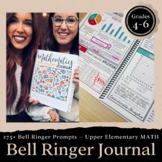 Math Bell Ringer Journal for Entire School Year: 4th & 5th Grade Morning Work