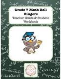 Math Bell Ringer Work Book