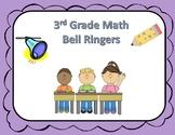 Math Bell Ringers (3rd Grade)