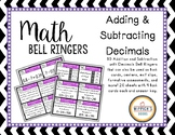 Math Bell Ringers- Adding and Subtracting Decimals