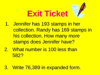 Math Bell Ringers and Exit Tickets(60 Common Core Bell Ringers and Exit Tickets)