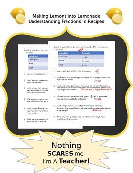 Math Bellwork Bellringers Powerpoint Fractions