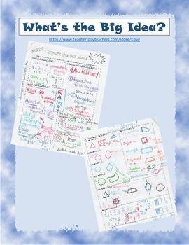 Math Big Idea 4th Grade - Common Core Math