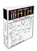 Math Binder Cover Editable File Teacher Binders, Student Portfolio K-3 Grade