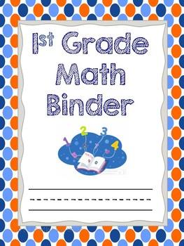 Math Binder Cover Freebie