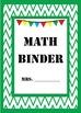 Math Binder Covers