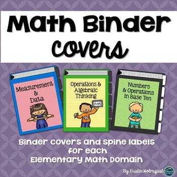 Math Binder Covers