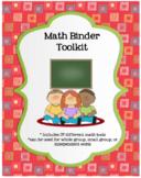 Math Binder Toolkit