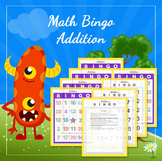 Math Bingo - Addition