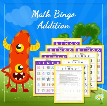 Math Bingo - Addition