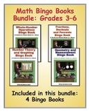 Math Bingo Book Bundle: Grades 3–6