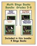 Middle Grade Math Bingo Books Bundle: Grades 5–8