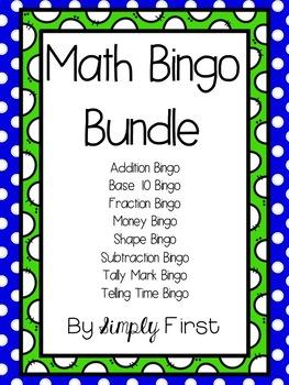 Math Bingo Bundle!