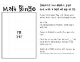 Math Bingo - Double and Double Plus One