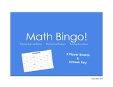 Math Bingo Review