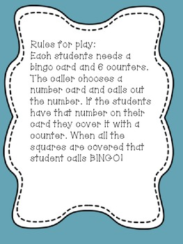 Math Bingo Set!