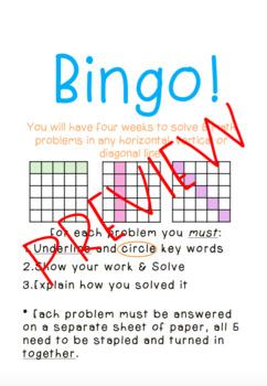Math Bingo V.1