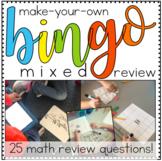 Make-a-Bingo Math - 3rd Grade Review