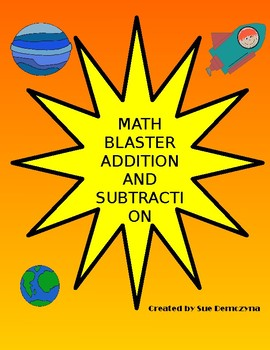 Math Blaster Addition and Subtraction