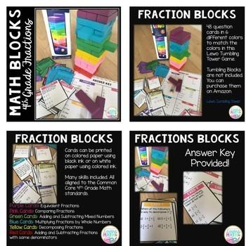 Math Blocks 4th Grade  BUNDLE