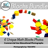Math Blocks Bundle 6 Stock Photos
