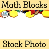 Math Blocks Stock Photo