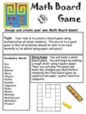 Math Board Game