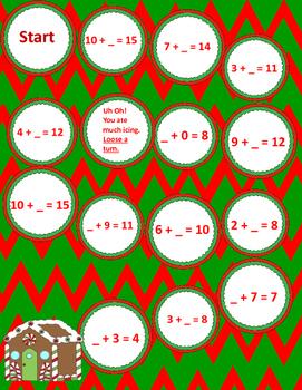 Math Board Game