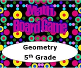 Math Board Game 5th Grade - Geometry (5.G)