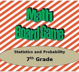Math Board Game 7th Grade - Statistics and Probability (7.SP)