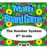Math Board Game 8th Grade - The Number System (8.NS)